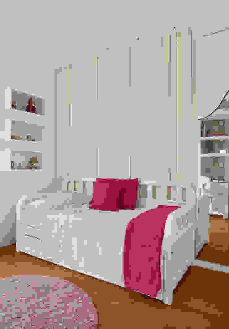 Projeto de decoração de Apartamento Quarto infantil moderno por Leila Dionizios Arquitetura e Luminotécnica Moderno