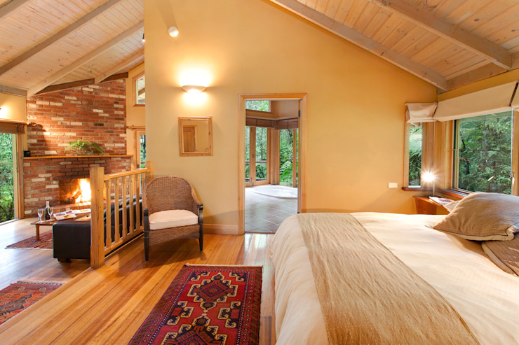 Australian Rainforest Retreat de Woodlands Rainforest Retreat Rural
