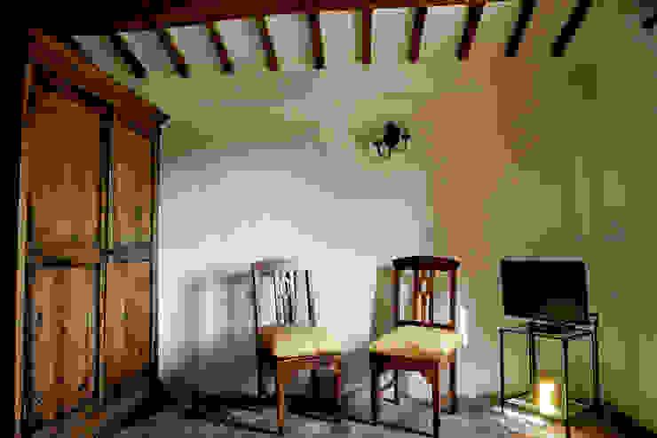 Tenuta Il Molinetto_Home Staging Soggiorno in stile rustico di ArchEnjoy Studio Rustico