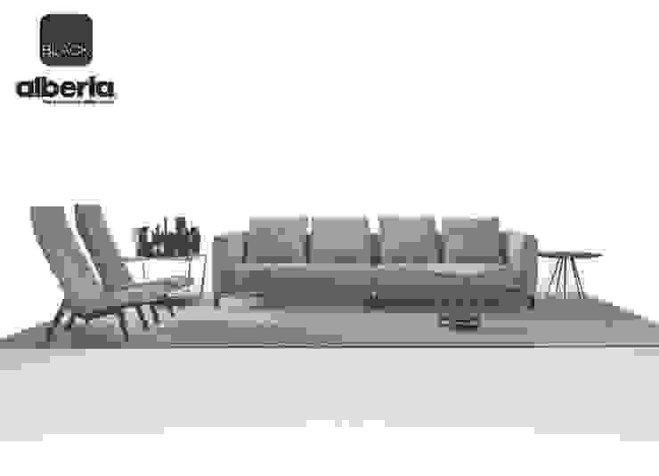 Black Collection di Alberta Pacific Furniture Moderno