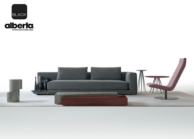 Black Collection Alberta Pacific Furniture Modern style rooms