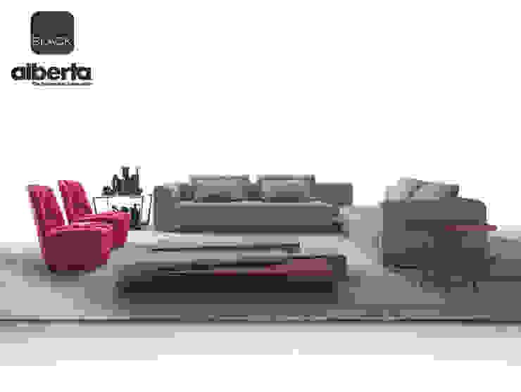 Black Collection Soggiorno moderno di Alberta Pacific Furniture Moderno
