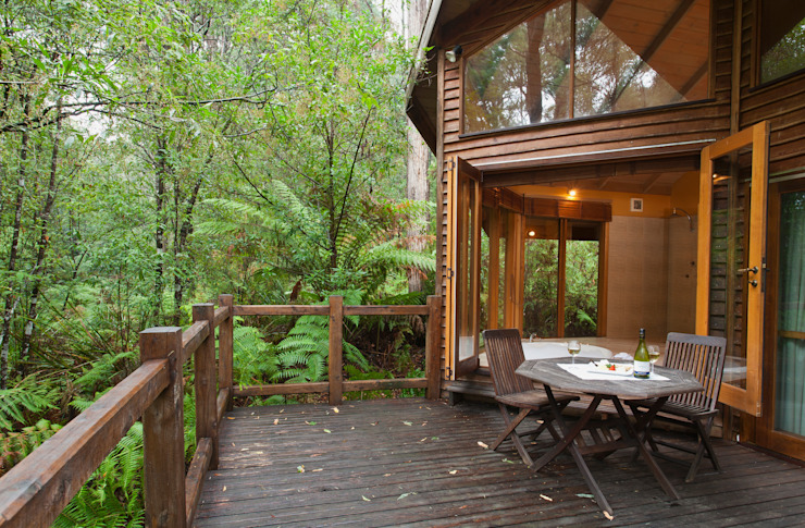 Australian Rainforest Retreat por Woodlands Rainforest Retreat Campestre