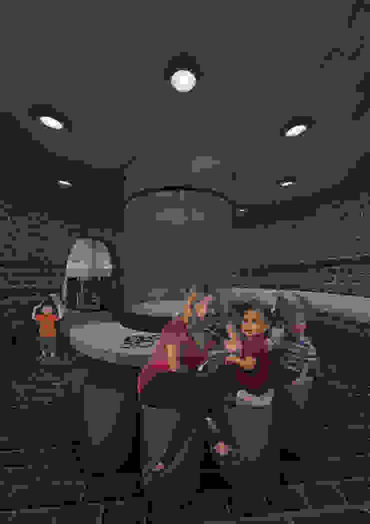 Heritage Kiln 3 Ground level: industrial  by Interior Design Graduate, Industrial