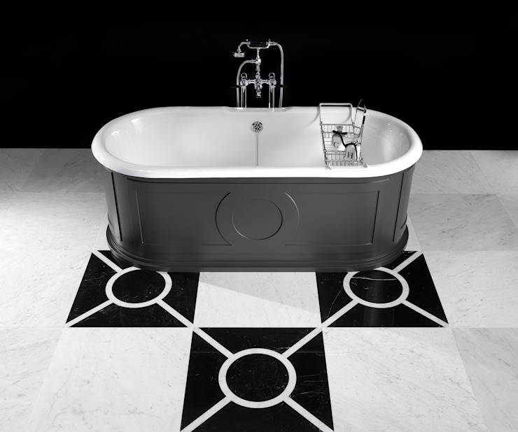 CAPITOL BATH par Devon&Devon UK Moderne