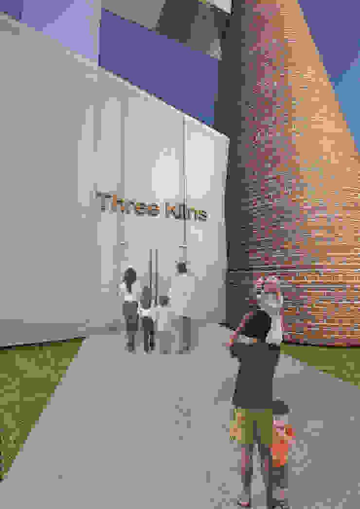 Three Kilns Entrance: industrial  by Interior Design Graduate, Industrial