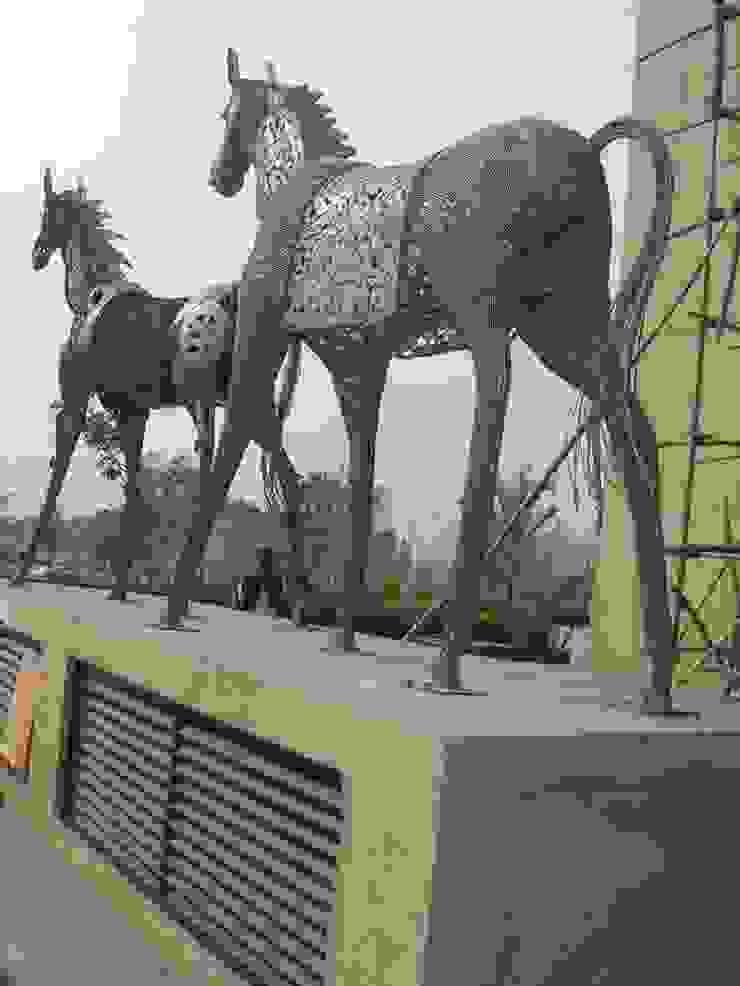 siligurry city center west bengol  india: modern  by mrittika,  the sculpture,Modern