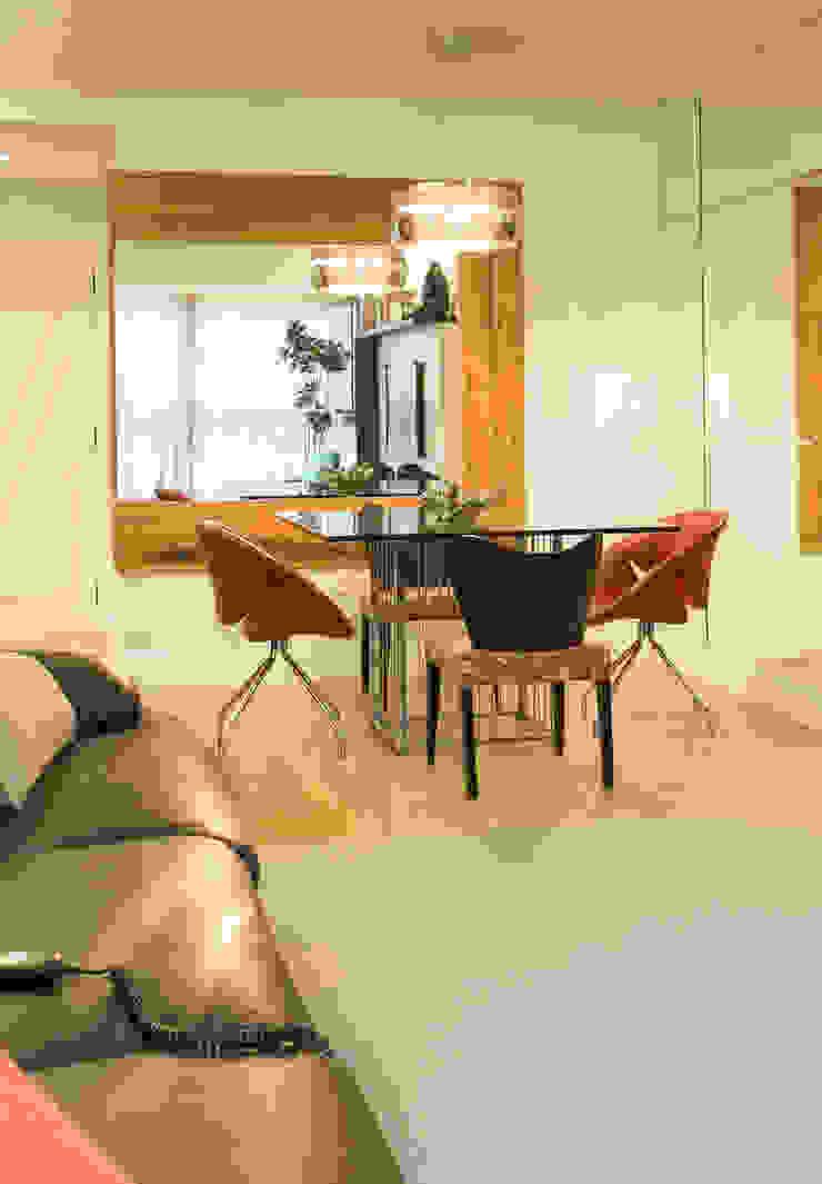 apartamento Final de semana Casas modernas por Rico Mendonça Moderno