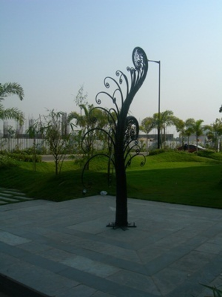 corporate project at Kolkata, west Bengal India by mrittika, the sculpture