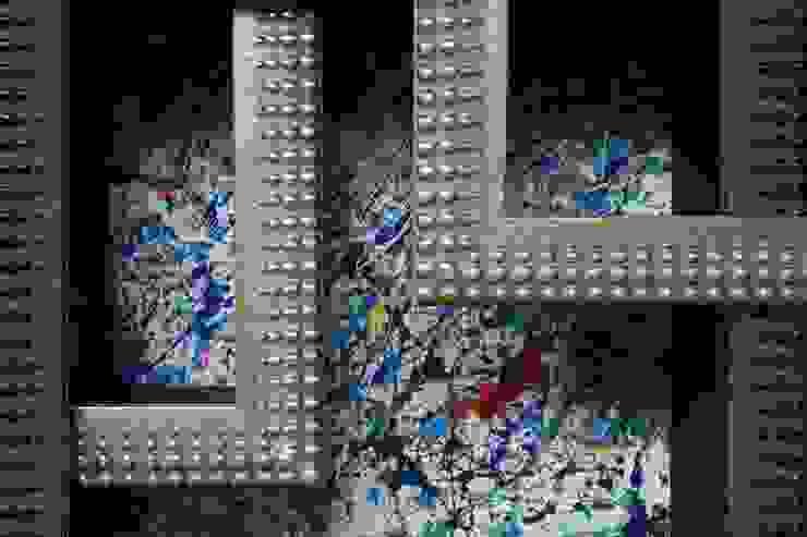 Frame IT – Pollock di Macrit - Materie Creative Italiane Moderno