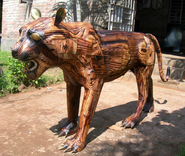pine wood product by mrittika, the sculpture