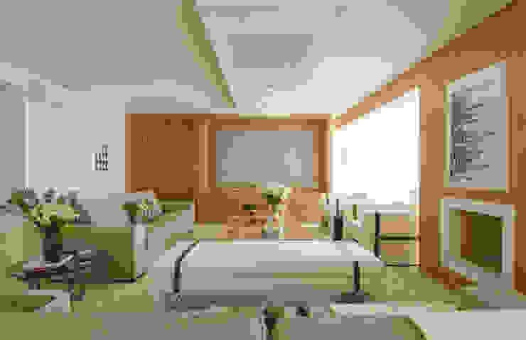 Moema: Salas de estar  por Prado Zogbi Tobar,Moderno