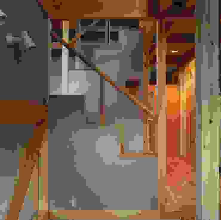 entrance オリジナルスタイルの 玄関&廊下&階段 の H.Maekawa Architect & Associates オリジナル