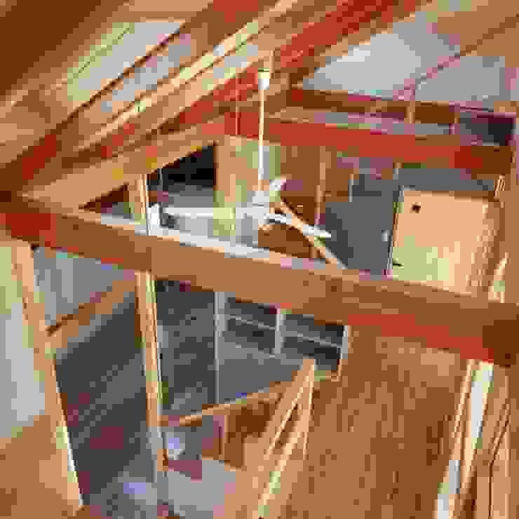 interior view オリジナルスタイルの 寝室 の H.Maekawa Architect & Associates オリジナル