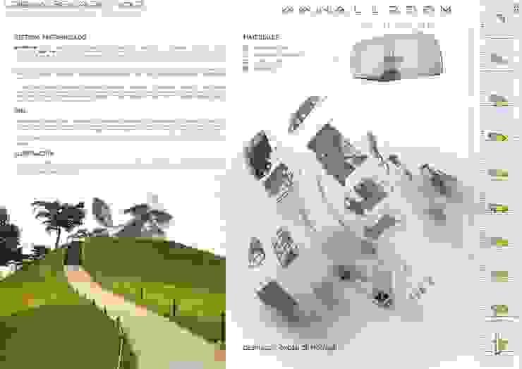 WWWALLROOM Hoteles de estilo moderno de BIM6D Consulting & Performance Moderno