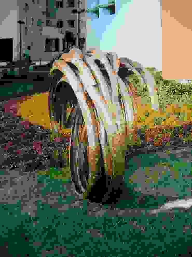 ujas site sculpture: modern  by mrittika,  the sculpture,Modern
