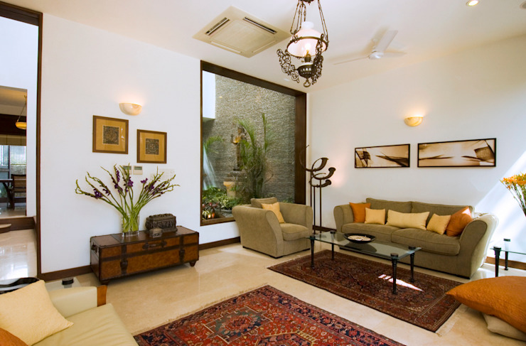 B House Modern home by Kumar Moorthy & Associates Modern