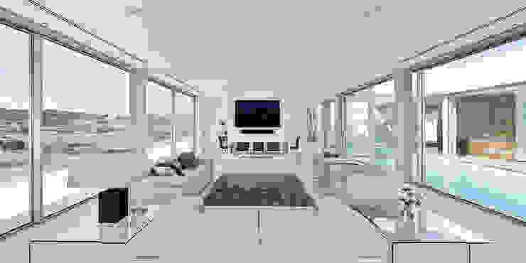 Villa Escarpa, Praia da Luz, Portugal Moderne Wohnzimmer von Philip Kistner Fotografie Modern