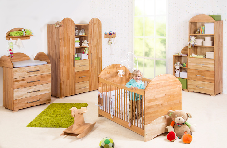 Nursery/kid's room by taube Kinder- und Jugendmöbel