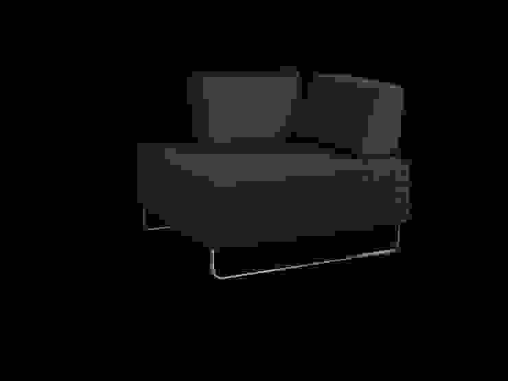BED for LIVING Hocker: modern  von Swiss Plus AG,Modern
