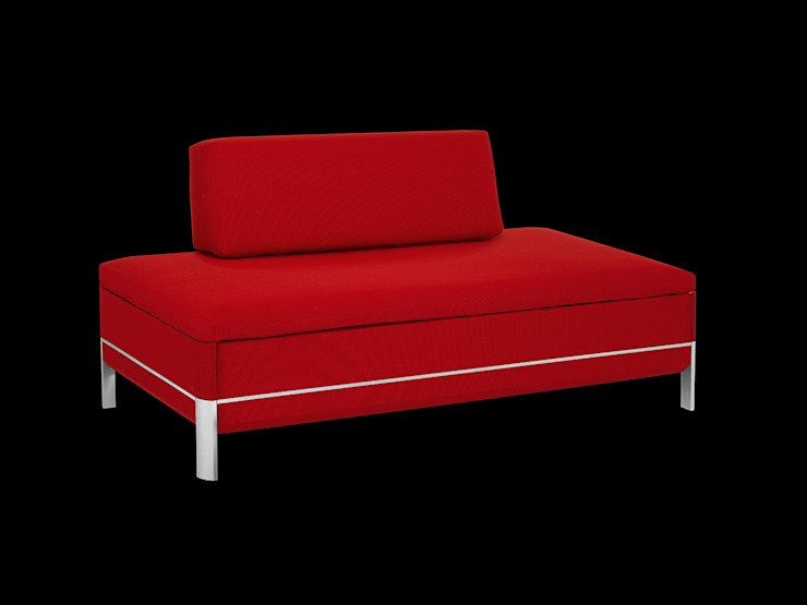 BED for LIVING Cento-60: modern  von Swiss Plus AG,Modern