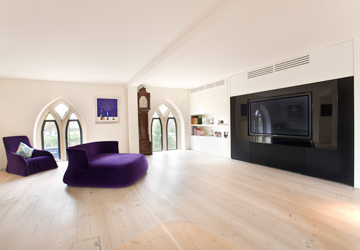 London Residential AV Solutions Ltd:  tarz Oturma Odası, Modern