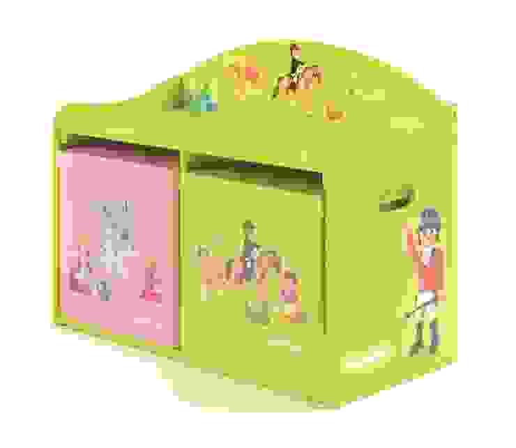 Banc de jeu et de rangement Playmobil FERME par IMPEX - My Note Deco Moderne