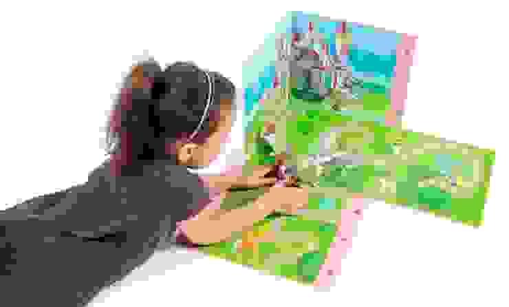 Boîte de jeu et de rangement Playmobil PRINCESSES par IMPEX - My Note Deco Moderne