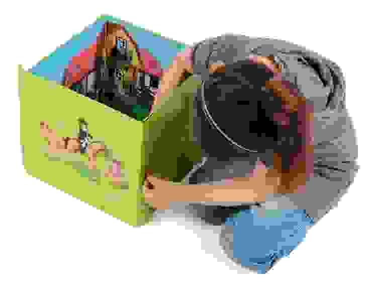 Boîte de jeu et de rangement Playmobil FERME par IMPEX - My Note Deco Moderne