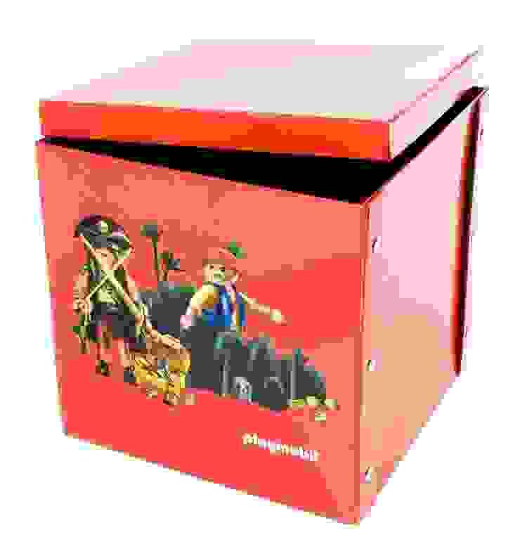 Boîte de jeu et de rangement Playmobil PIRATES par IMPEX - My Note Deco Moderne