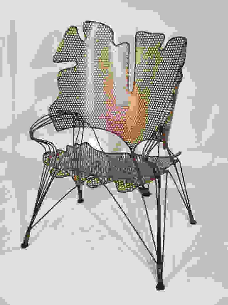 """Grand Fauteuil """"Feuillages de Ginkgo"""" Artiste Sculpteur MaisonAccessoires & décoration"""