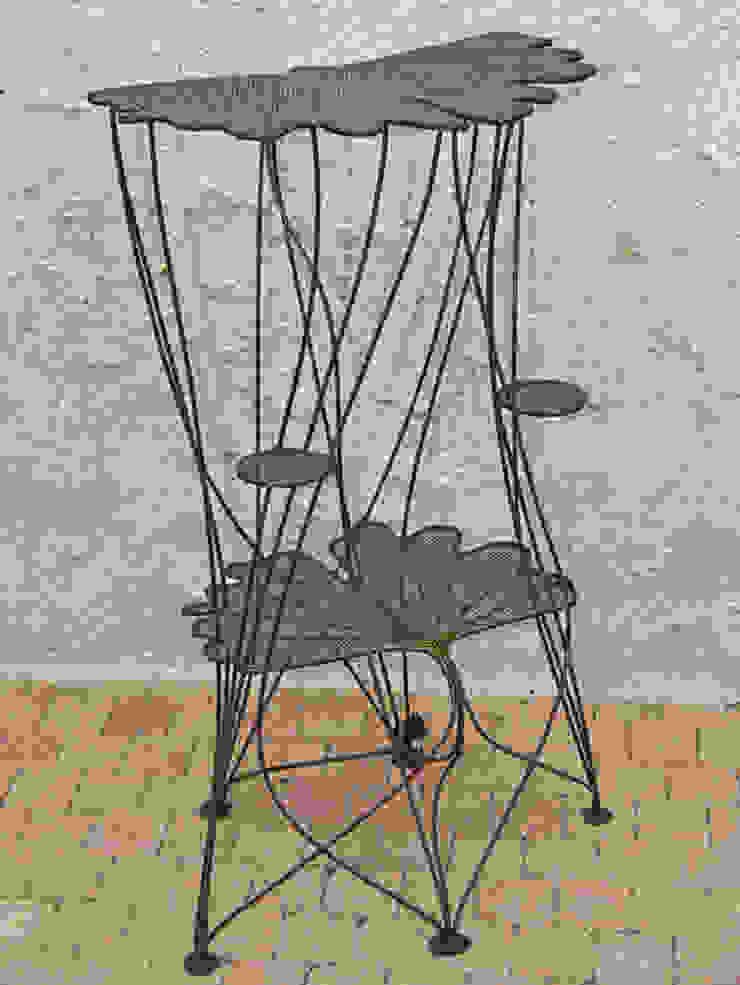 """Guéridon """"Feuillages de Ginkgo"""" Artiste Sculpteur MaisonAccessoires & décoration"""
