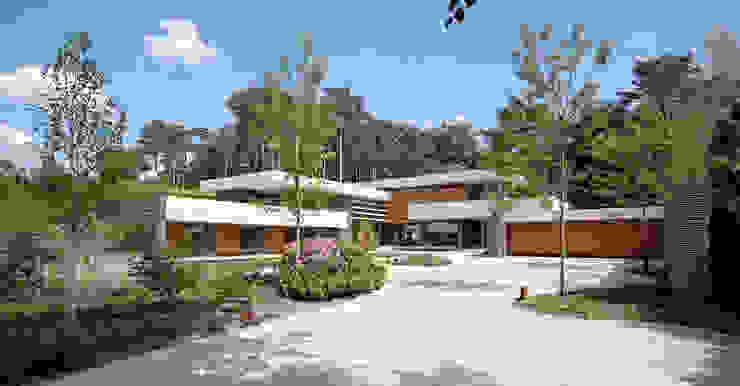 Dune villa โดย HILBERINKBOSCH architecten โมเดิร์น