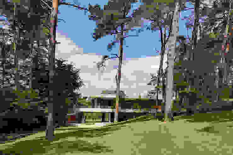 Dune villa Casas modernas por HILBERINKBOSCH architecten Moderno