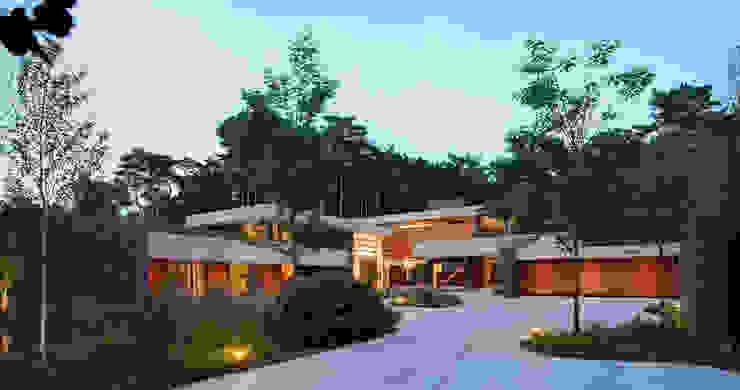 Dune villa by HILBERINKBOSCH architecten Сучасний