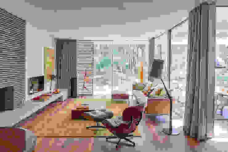Dune villa Salas de estar modernas por HILBERINKBOSCH architecten Moderno