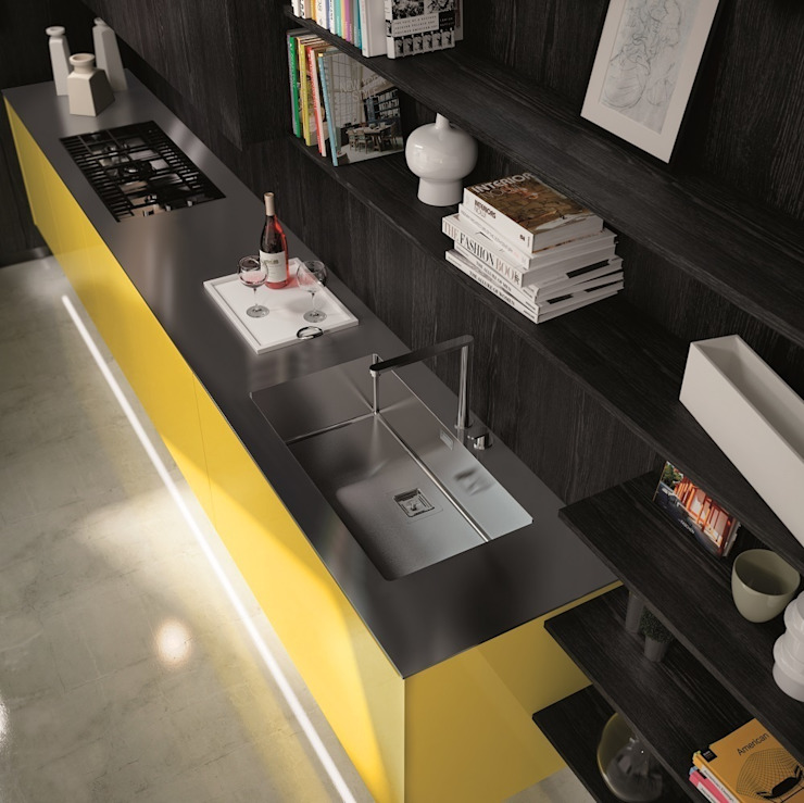 Modern kitchen by Del Tongo Modern