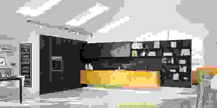 Dapur Modern Oleh Del Tongo Modern