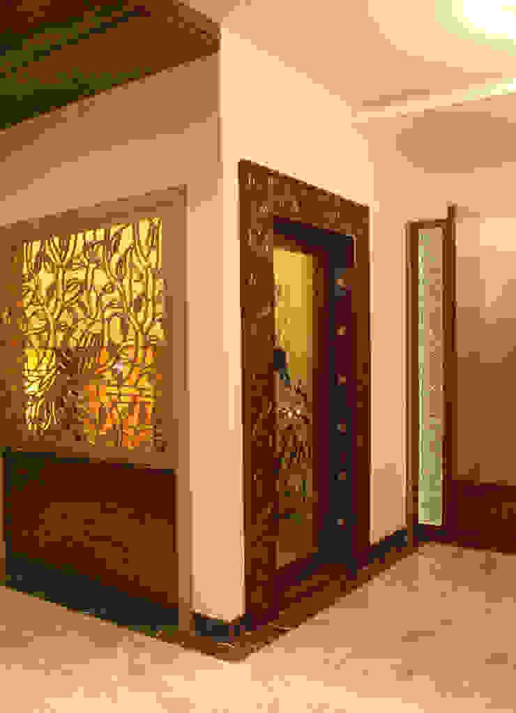 Residence Of Mr.Murali and Shridhar Modern houses by Hasta architects Modern
