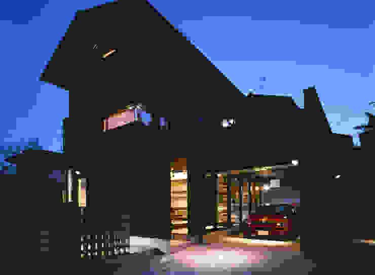 生駒のgarage hause オリジナルな 家 の 田中一郎建築事務所 オリジナル
