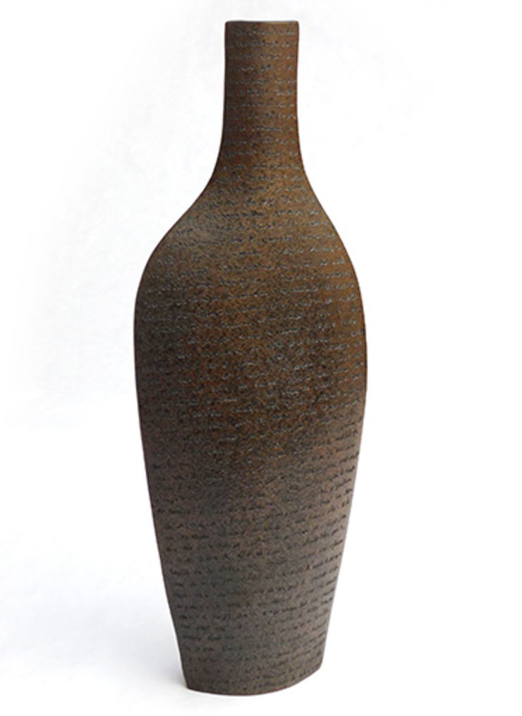 bouteille stylisée par PATRICIA VIELJEUX