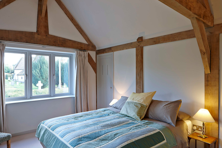 Stable Cottage Adam Coupe Photography Limited Country style bedroom