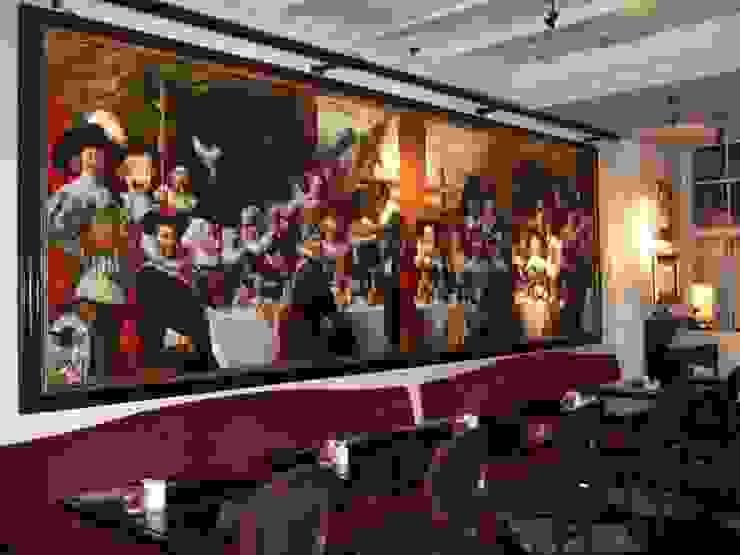 HALS'S BRUNCH – Hotel » Le Pulitzer » Amsterdam par Thierry Bruet Painter Éclectique