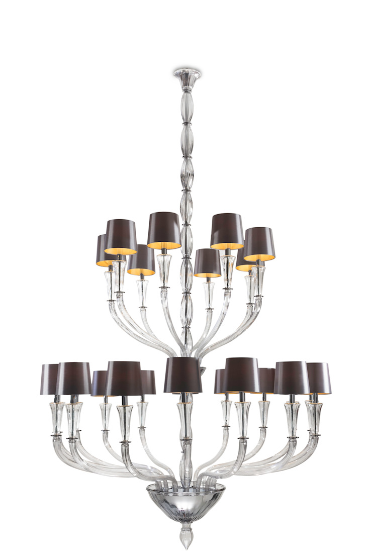 Zeus chandelier by Baroncelli