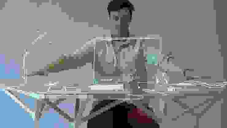Le bureau ergonomique personnalisé par Danko Radulovic Moderne