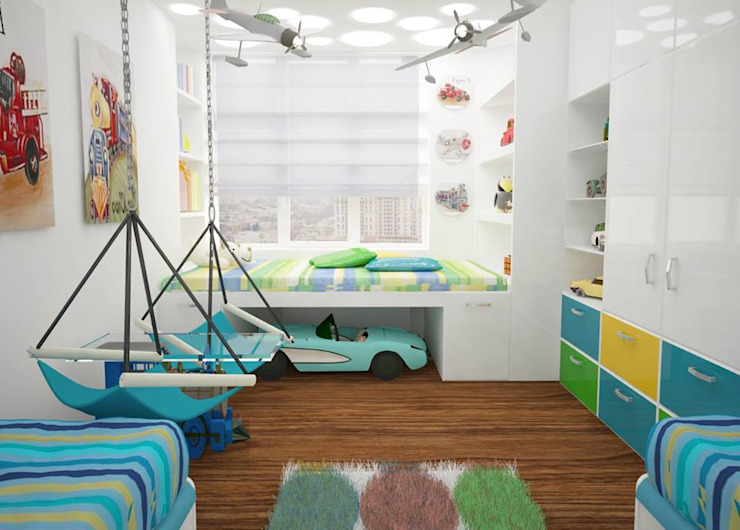 Nursery/kid's room by Medianyk Studio , Modern