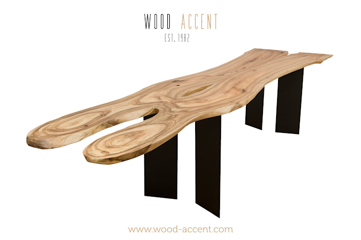 UNIQUE WOODEN TABLES WOOD ACCENT od WOOD ACCENT Minimalistyczny