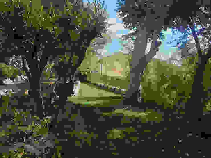 Villa à Menton Jardin rural par Agence Manuel MARTINEZ Rural