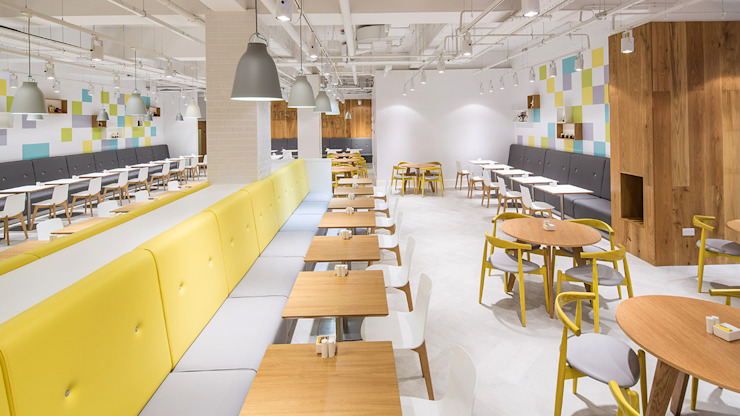 Restaurant On 5 by HF Contracts Сучасний