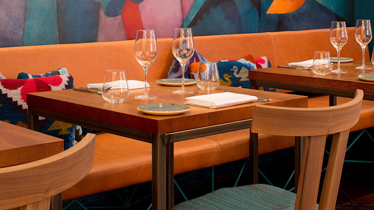 Lima Floral Modern gastronomy by HF Contracts Modern